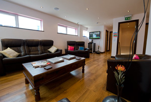 Reception: Relax, watch TV & have a cup of tea