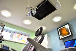 Comfortable laser surgery