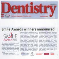 Dentistry.co.uk - Smile Awards winners announced