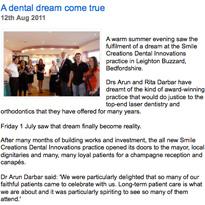 A dental dream come true